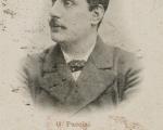 Cartolina Giacomo Puccini