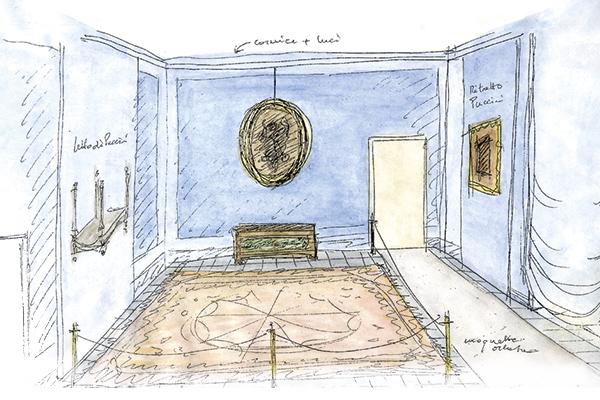 Restoration puccini museum casa natale di giacomo puccini for Schizzo di piani di casa gratuiti