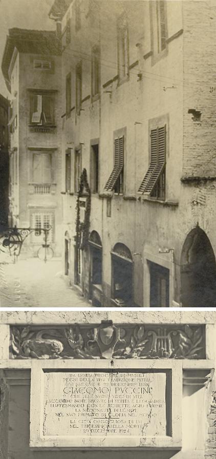 Storia puccini museum casa natale di giacomo puccini for La casa tradizionale progetta una storia