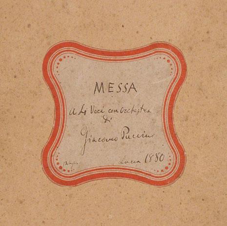 Copertina Messa