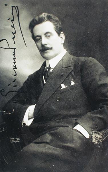 Cartolina Giacomo Puccini 3