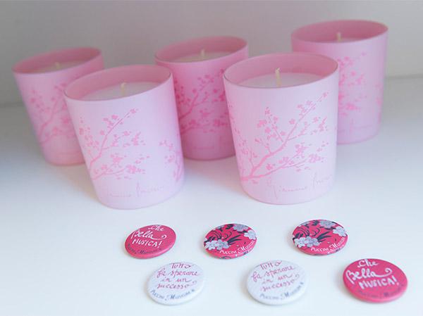 Candele rosa