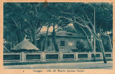 Villa Puccini Viareggio