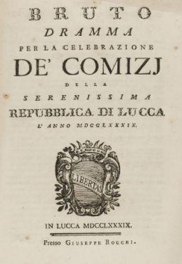 Libretti composizioni G.P. senior