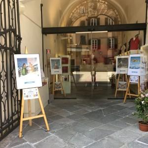 Bookshop Puccini Museum - immagini allestimento mostra