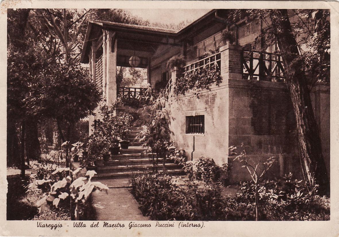 esterno della Villa Puccini