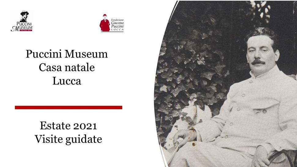 Giacomo Puccini- locandina estate 2021
